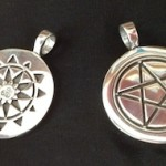 Fundraising Special: Sterling Silver Limited Edition Temple of Witchcraft Pendants from Deva Designs